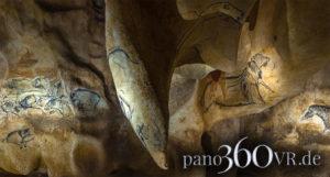 Venus von Pont d'Arc als Fangzahn eines Löwen